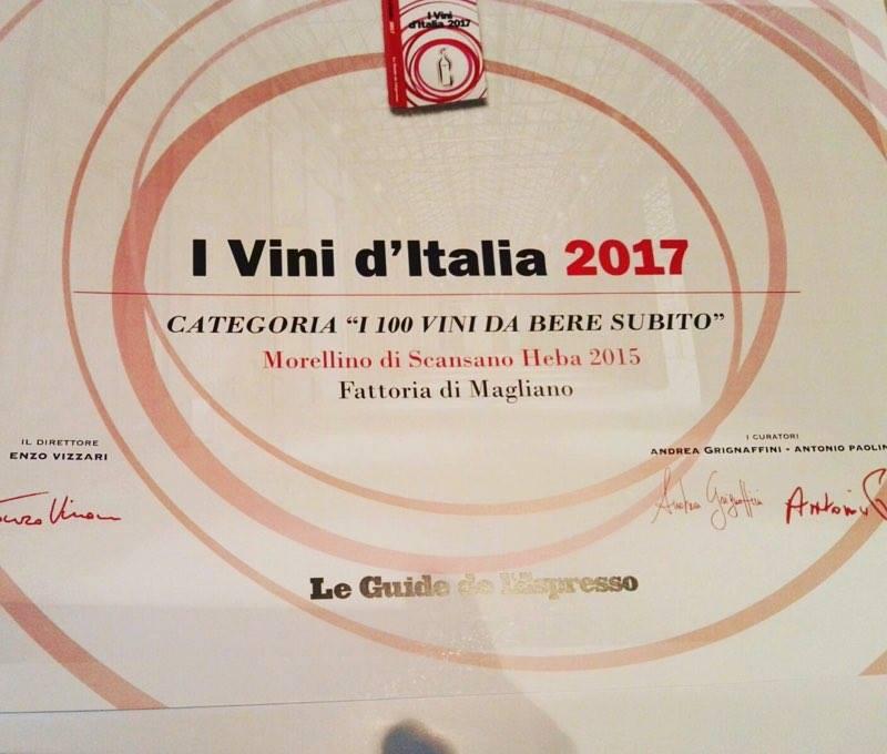 Vini d Italia 2017